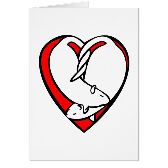 Sweetheart Rats Valentine Card