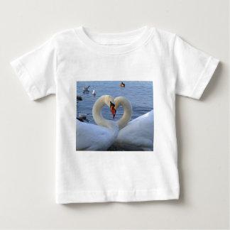 Sweetheart swans baby T-Shirt