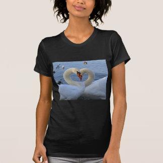 Sweetheart swans t shirt