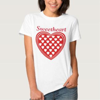 Sweetheart, valentine, heart tees