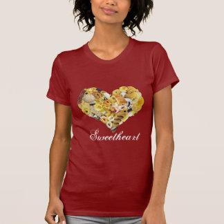 Sweetheart Women Red T-Shirt