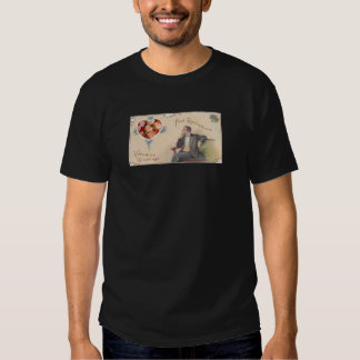 Sweethearts Candy Victorian Man Collage Tshirts