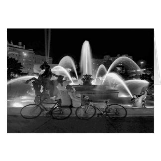 Sweethearts, J.C. Nichols Fountain, Kansas City Card