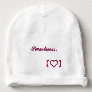Sweetness design baby beanie