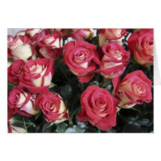Sweetness Rose arrangement at Hacienda Compania Card