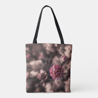 Sweetness Tote bag mini carnations in antique pink