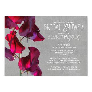 Sweetpea Bridal Shower Invitations