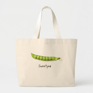 Sweetpea Large Tote Bag