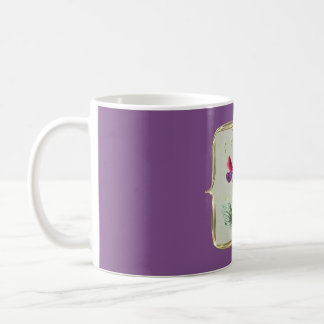 Sweetpea Vintage Flowers Coffee Mug