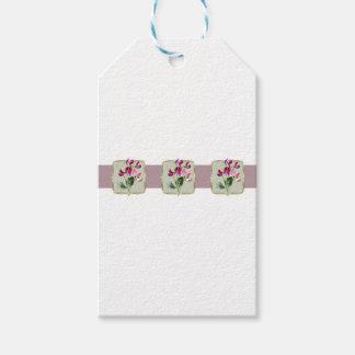 Sweetpea Vintage Flowers Wide Pack Of Gift Tags