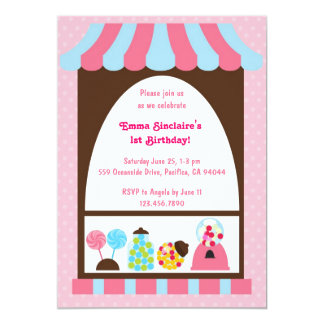 Sweets and Treats Invite Two