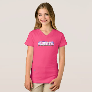 Sweets girls v-neck t-shirt