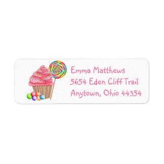 Sweets Return Address Labels