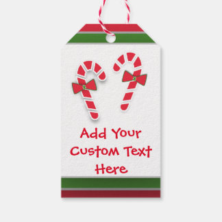 Sweets To The Sweet Candy Canes Holiday Tags Pack Of Gift Tags