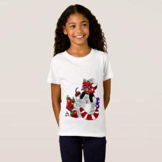 Sweety Red Panda Girls T-Shirt