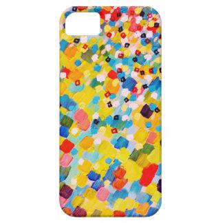 SWEPT AWAY 2 - Vibrant Colorful Rainbow Mango Art iPhone 5 Case