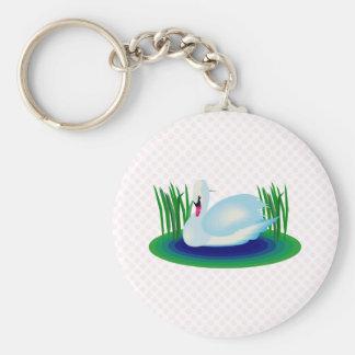 Swerra Swan Keychain