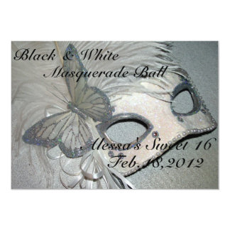 swet 16  Masquerade ball Card