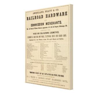 Swetland, Pratt and Company Canvas Print