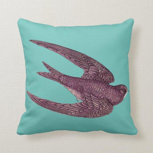 Swift Bird Throw Pillow