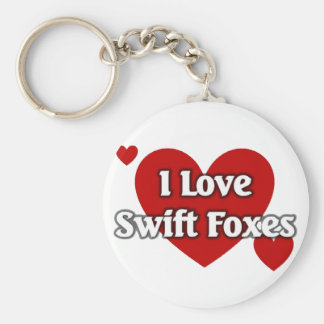 Swift foxes keychain