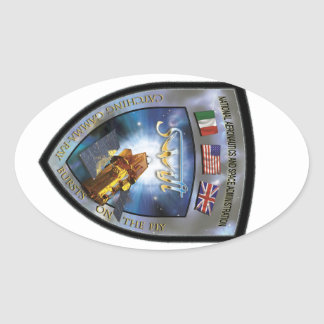 Swift Gamma-Ray Burst Mission Oval Sticker