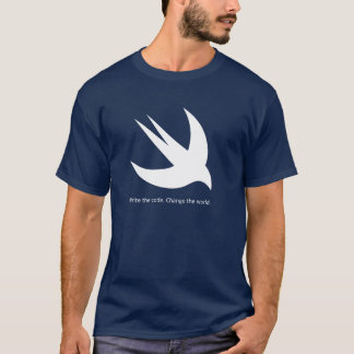 Swift Programmer Men's Basic Dark T-Shirt