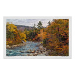 Swift River Autumn Poster
