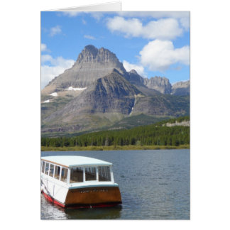 Swiftcurrent Lake - Glacier National Park Card