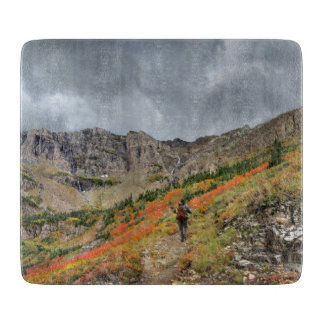 Swiftcurrent Pass - Glacier National Park Cutting Board
