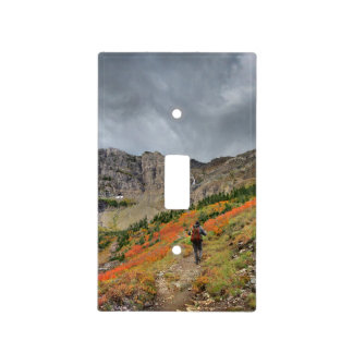 Swiftcurrent Pass - Glacier National Park Light Switch Cover