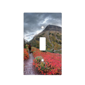Swiftcurrent Pass Trail - Glacier National Park Light Switch Cover
