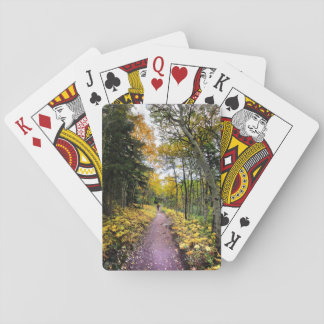 Swiftcurrent Pass Trail - Glacier National Park Playing Cards