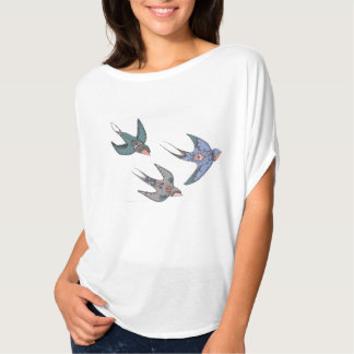 Swiftly Swooping Swallows T-Shirt