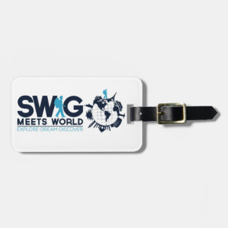 Swig Meets World Luggage Tag