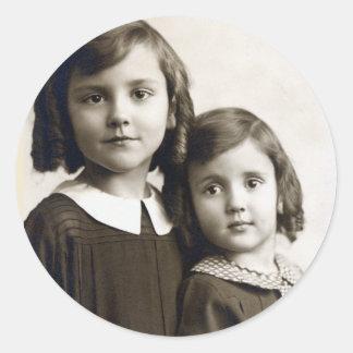 Swigert Sisters Sticker ... Circa 1938 / 1939