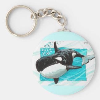 Swim Along Keychain