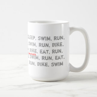 Swim, Bike, Run - I Am a Triathlete - Coffee Mug