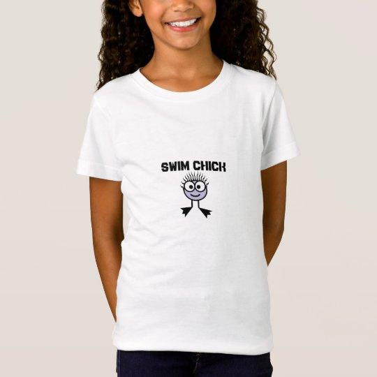 Swim Chick    -Lilac Swim Character T-Shirt