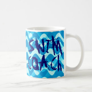 SWIM COACH CLASSIC WHITE COFFEE MUG