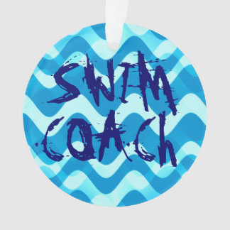 SWIM COACH ORNAMENT