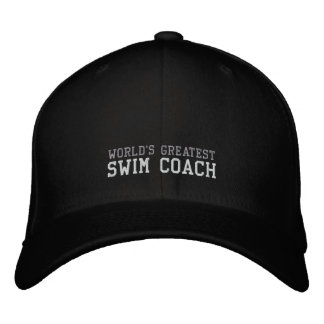 Swim Coach, World's Greatest Hat Baseball Cap