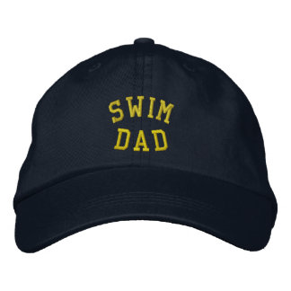 SWIM DAD Embroidered Hat
