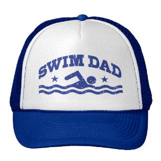 Swim Dad Trucker Hat