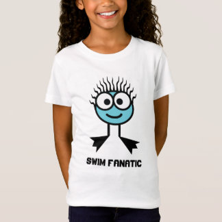 Swim Fanatic - Blue Swim Character T-Shirt