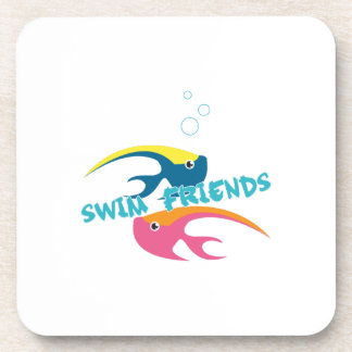 Swim Friends Beverage Coaster