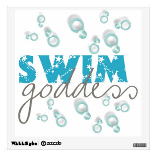 Swim Goddess Wall Decal