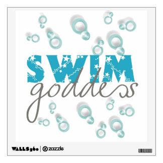 Swim Goddess Wall Decal