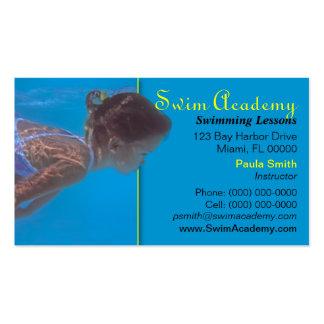 Swim Instructor Business Card