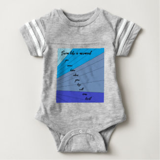 swim like a mermaid you never know when your legs baby bodysuit